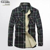 Men S Dress Shirt Brand 2017 Mens Slim Fit Plaid Shirt Long Sleeve FashionFit Soft Comfortable