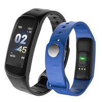C1Plus Inteligente Pulseira Cor Tela Rastreador De Fitness Heart Rate Monitor de Pressão Arterial Inteligente Faixa de Relógio Dos Homens Para O Esporte de Escalada|Relógios femininos| |  -