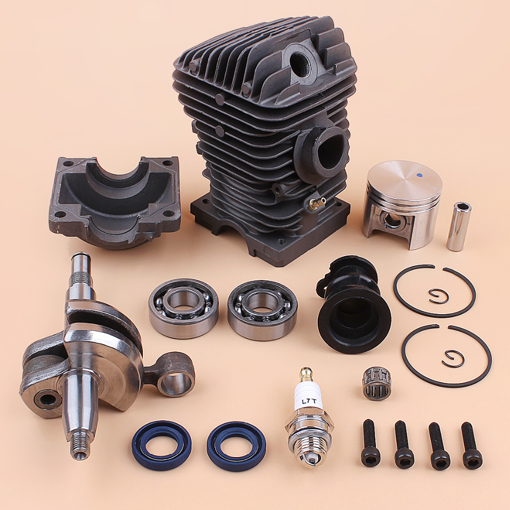 Engine Motor Cylinder Piston Crankshaft Bearing Kit For Stihl 023 025 MS230 MS 250 MS 250 MS 230 42.5mm Gas Chainsaw Rebuild Set