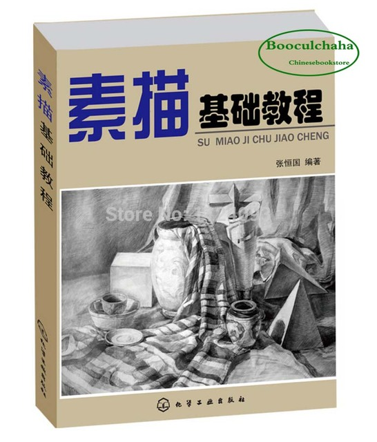 Booculchaha basic skills pencil sketch tutorial book for beginners chinese line drawing training textbook charcoal drawing