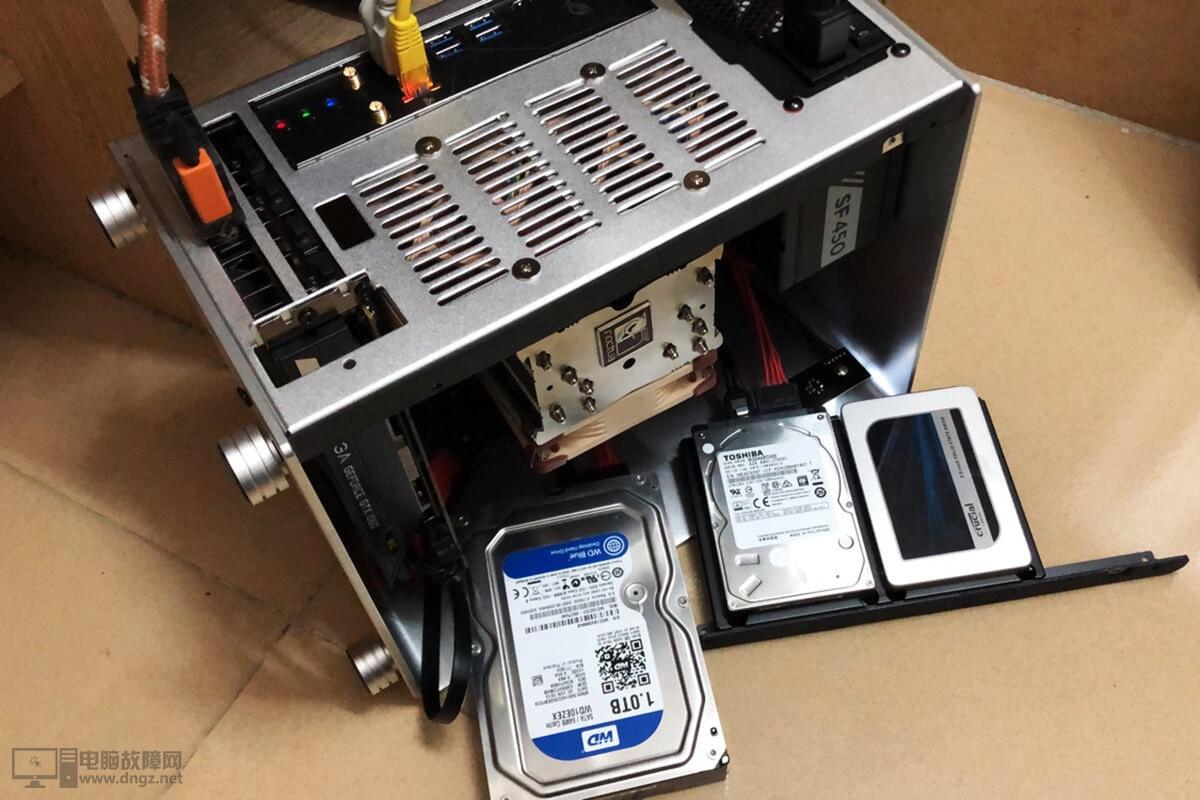 ITX小機箱電腦裝機之軟件測試1