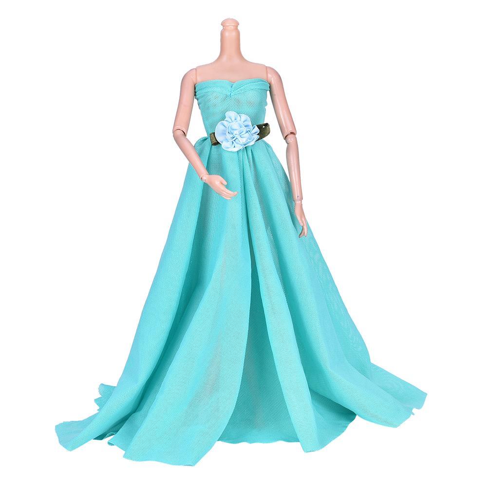 Зеленое вечернее свадебное платье красивые DIY вечерние платья ручной работы для куклы новое поступление аксессуары для кукол