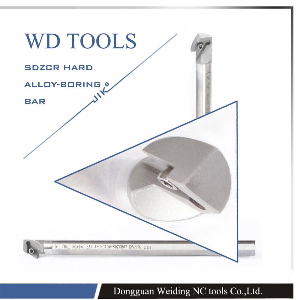 Здесь можно купить   C14Q-SDZCR07 solid carbide Boring Bar,Internal CNC turning tool holder,Lathe cutting tool,Screw On Holder  boring bar Строительство и Недвижимость