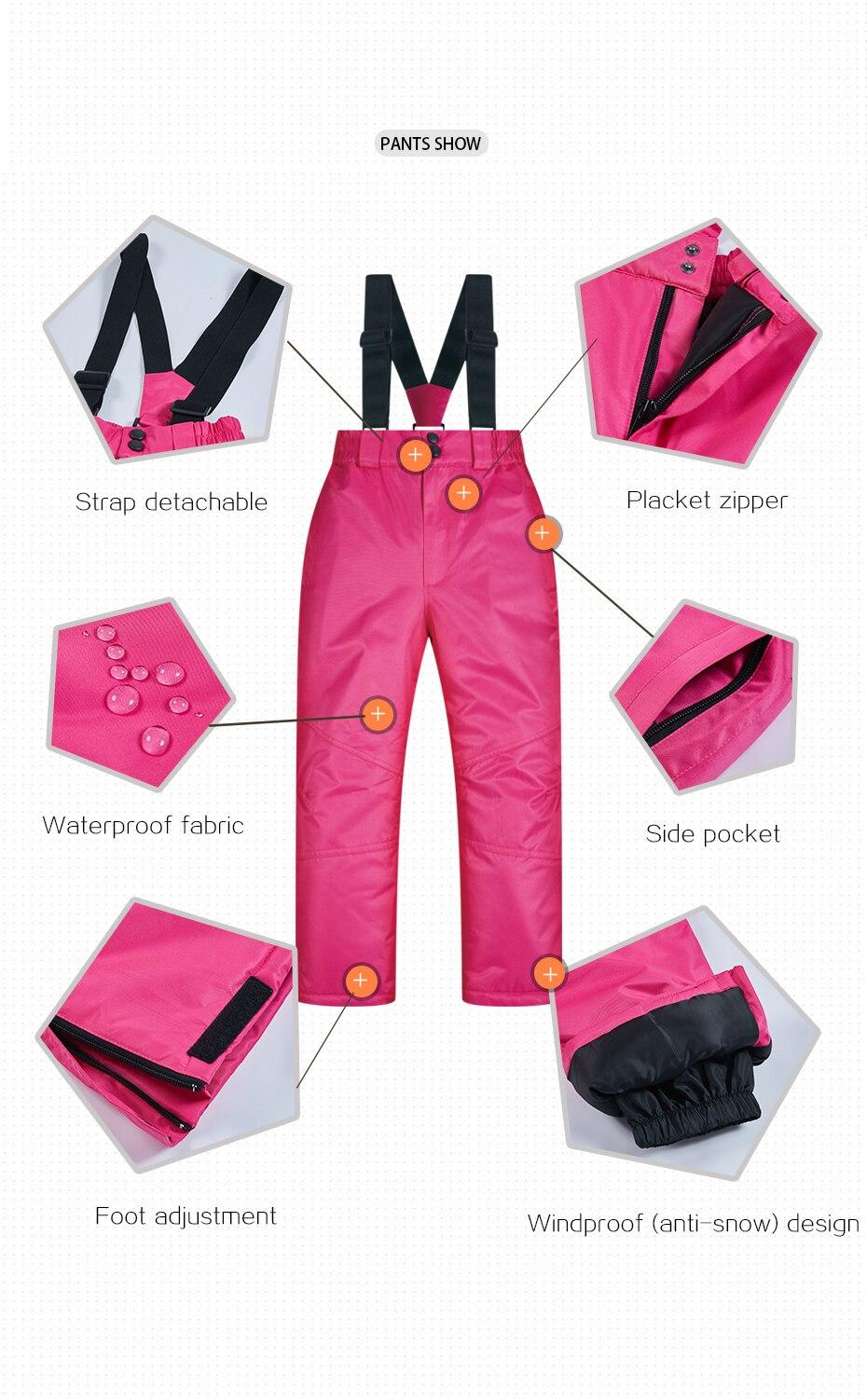 儿童滑雪服套装模板_20
