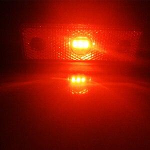 Image 5 - 2 adet 12 V 24 V araba Kırmızı led far yan işaretleyici işık Trailer işık kuyruk işık işaretleyici led pozisyon işareti genişlik kamyon kamyon lambası