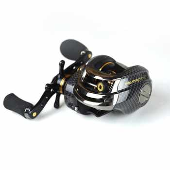 Fishdrops Saltwater Bait Casting Reel Lb200 18BB  Ratio7.0:1 Double Brake Systems Left Right Hand Fishing Baitcasting Reel - DISCOUNT ITEM  28% OFF All Category