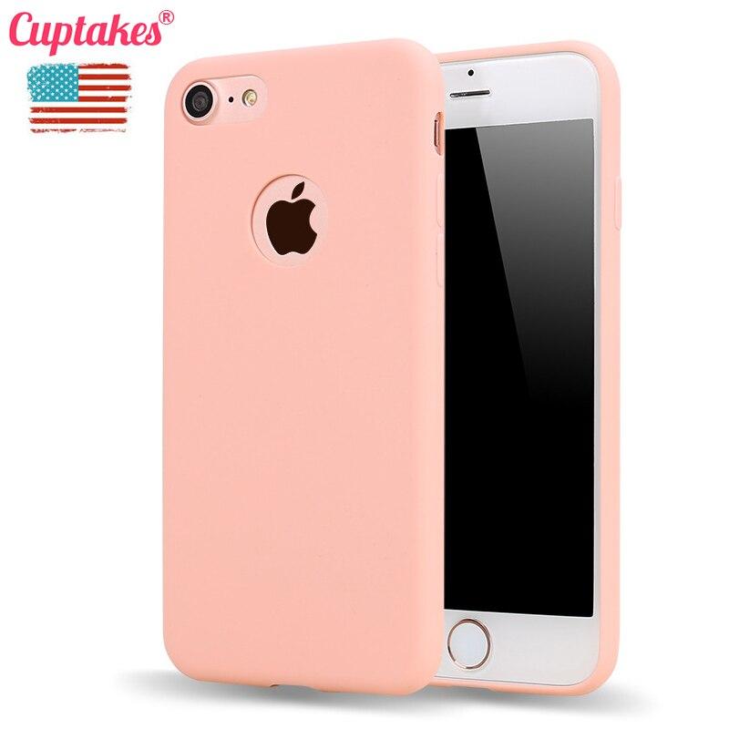 Cuptakes Originale Cassa Molle Del Silicone per Apple iPhone 5 S SE 6
