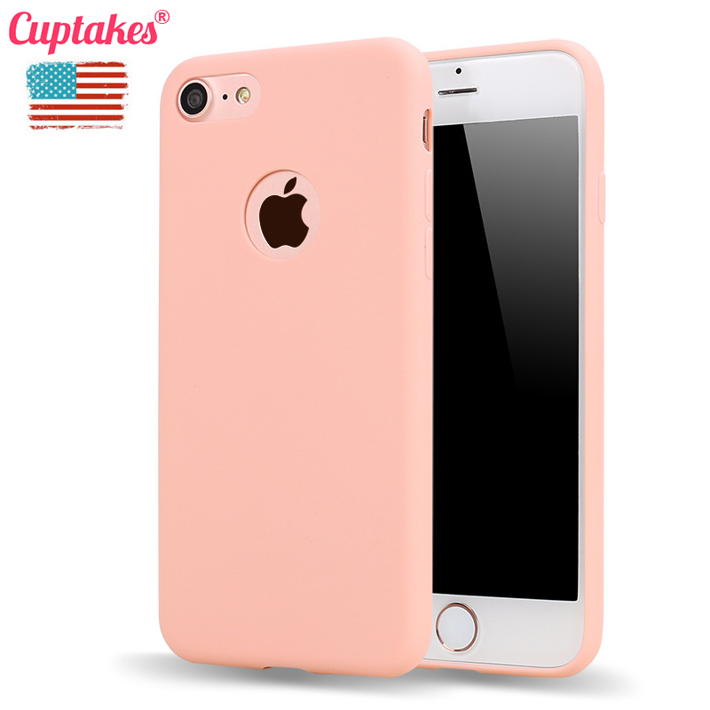 Cuptakes Soft Silicone Case for iPhone 5S SE 6 6S