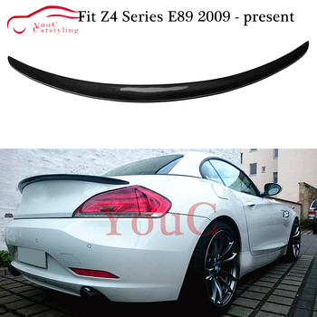 Carbon Fiber Rear Spoiler Trunk Lip Splitter for BMW Z4 E89 2-door Convertible 2009 - 2016 Trunk Tail Boot Lip Spoiler Wing image