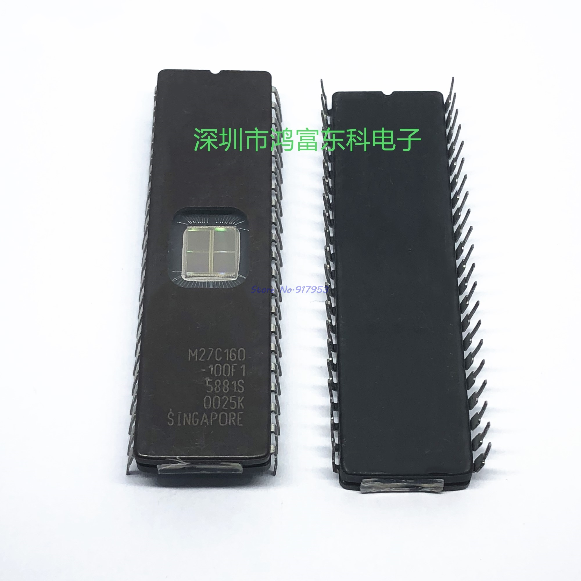 1PCS//5PCS//10PCS M27C160-100F1 M27C160 DIP-42 4EPROM UV 16MBIT 100NS BULK ST