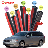 Whole Car Sealing Strip Kit Weatherstrip For Volvo V40 V50 V60 V70 Auto Rubber Seal Edging