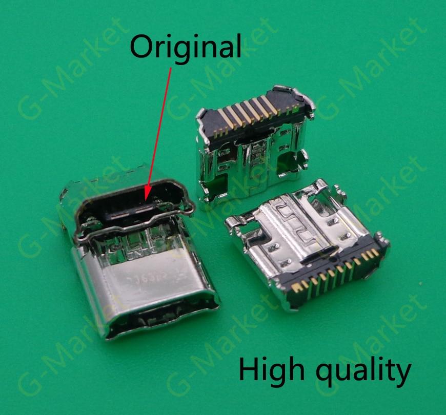 100pcs Original Micro USB Port Charger Connector Charging Port for Samsung Tab 3 7 0 I9200