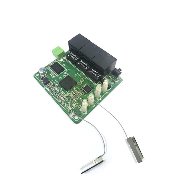Image 2 - 3 port 10/100Mbps wireless Ethernet router module Module Design Ethernet Router Module for Ethernet PCBA Board OEM Motherboard-in Modem-Router Combos from Computer & Office