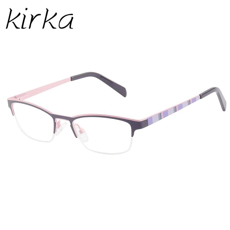 Kirka New Design Girls Metal Frame Glasses Frame Cute Kids