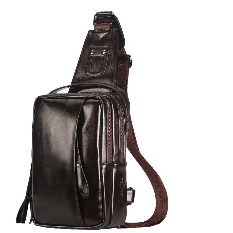 2017 Brand Fashion Man Shoulder Bag Men Leather Messenger Bags Casual Travel Handbag Classic Portable Luxury Crossbody Bolsas