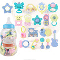Cute Bottle Sets 18Pcs Baby Toys Teether Kids Toy Early Educational Baby RattleCute Bottle Sets 18Pcs Baby Toys Teether