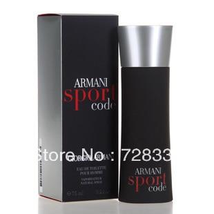 Free Shipping! Original packing 100% New Fragrances perfume CODE SPORT  Brand 75ml perfume women perfume