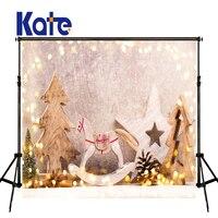 KATE Photography Background Navidad Backdrop Glitter Backdrop Gray Soild Brick Wall Backdrops Arbol Navidad Madera Backdrops