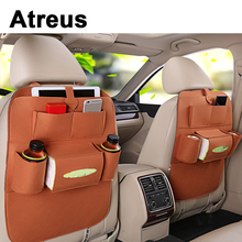 Atreus 1X For BMW e46 e39 e60 e36 Mini cooper Audi a4 b6 a3 a6 c5 b8 b7 Car Styling back seat storage bag backpack  Accessories