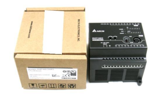 DVP16EC00R3 EC3 CPU MODULE 100-240VAC 16 points 8DI 8DO Relay Boxed new original PLCDVP16EC00R3 EC3 CPU MODULE 100-240VAC 16 points 8DI 8DO Relay Boxed new original PLC