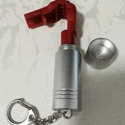 10 шт./лот EAS Противоугонный стоп-замок для дисплея, защитный замок с крюком и фиксатором + 2 шт. Съемник магнитных ключей, бесплатная доставка