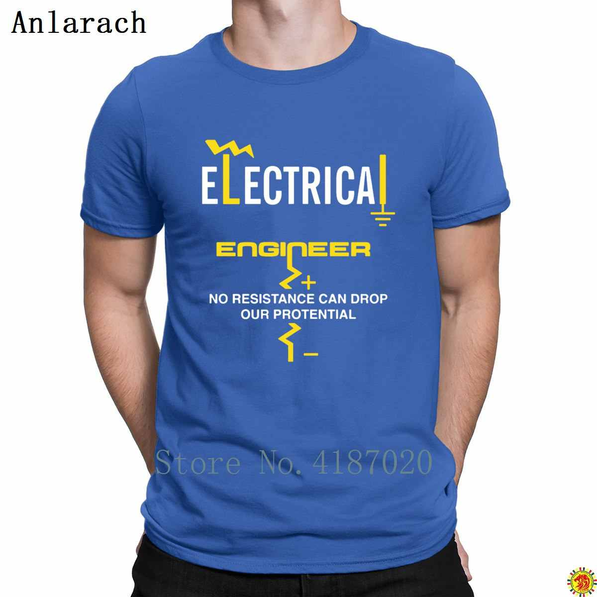 22f848e12 ... Electrical Engineer T-Shirts Cheap Nice Formal Custom T Shirt For Men  Round Collar Clothes ...