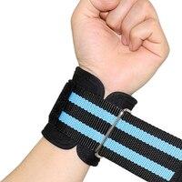 Réglable Polyester + Néoprène Support de Poignet Brace Bracelet Hommes Femmes Gym Wrestle Protection De Sport Professionnel Poignet