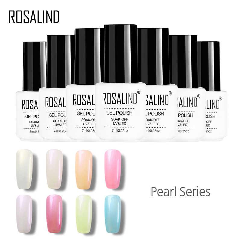 Rosalind Gel 1 S Moda Perla Serie Color Encanto Diosa Color Uñas Esmalte De Uñas Puede Remojar Largo Duradera Gel Pintura