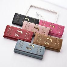 Women Ladies Clutch Leather Wallet Long Card Holder Phone Ba