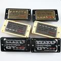 1 Set Original Genuine Epi LP Standard SG Electric Guitar Alnico Bar Humbucker Pickup Nickel Silver Gold Black MADE IN KOREA