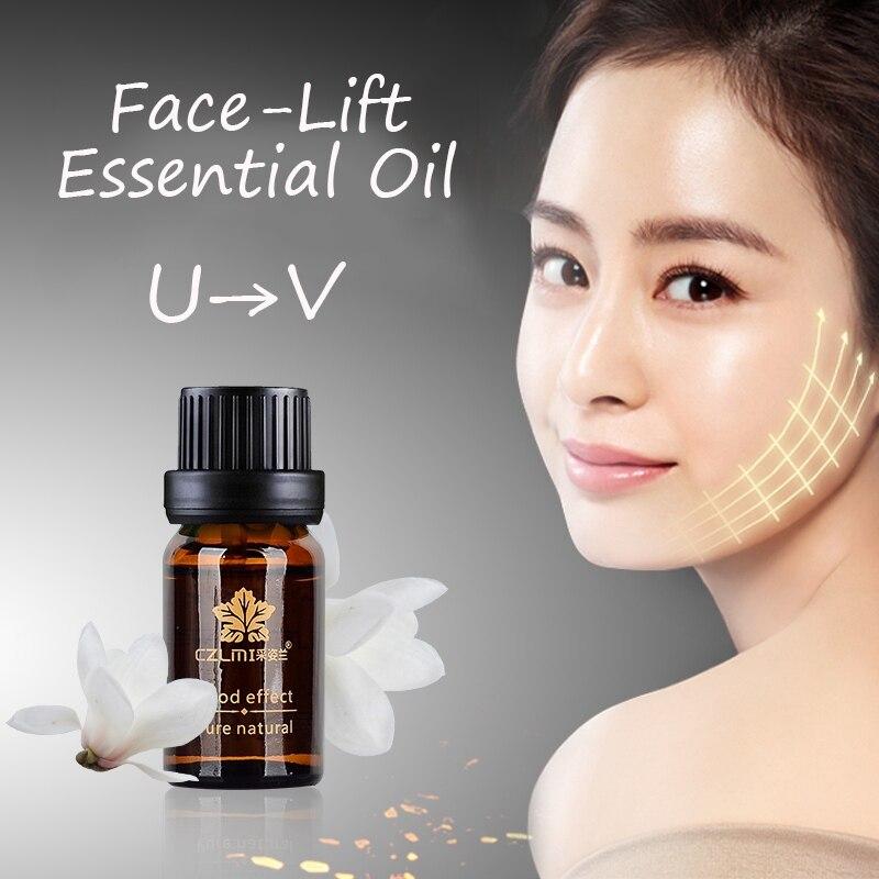 10ml Útil estiramiento facial aceite esencial Extracción Papada bebé gordo V-9344