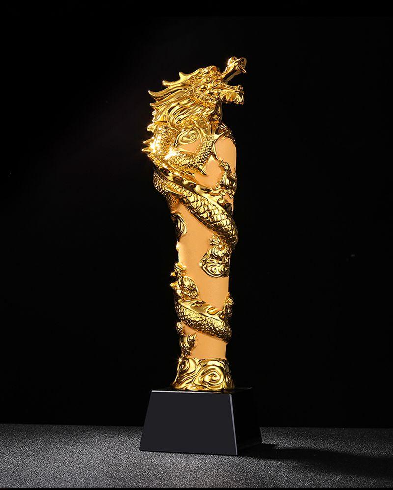 Top qualité! nouveau trophée en cristal créatif robinet trophée personnalité trophée en résine d'or lettrage gratuit, livraison gratuite!
