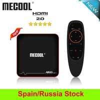 2019 Mecool M8S PRO W Smart TV Box Android 7.1 Amlogic S905W 2GB DDR3 16G ROM IPTV 4K 2.4G WiFi préfixe TV Box expédier de ES/RU