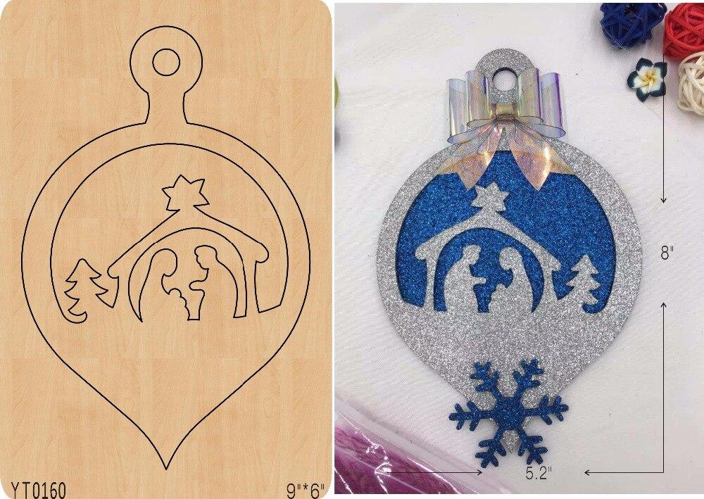 Colgante de campana DIY de madera/molde de álbum de recortes/Herramienta de troquel/YT0160-in Troqueles from Hogar y Mascotas    1