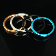 Penis Ring Steel Male Delaying Ejaculation Rings GSPot extender Stimulating enhancement Cockring Chastity Sex Toys FOR Men