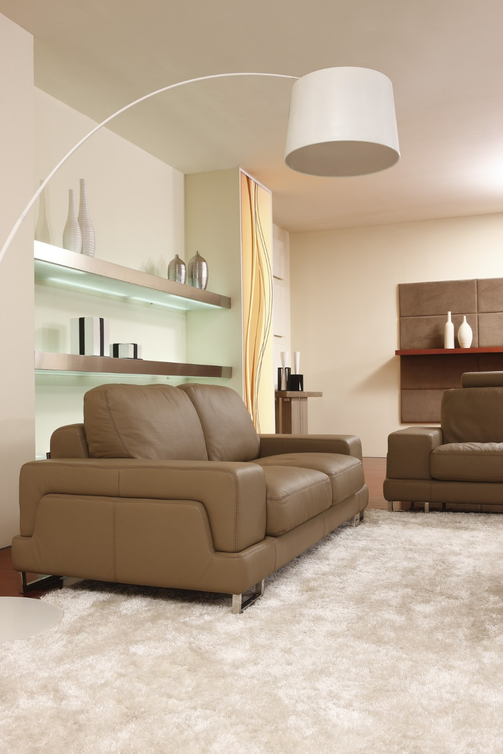 sofa pink picture  more detailed picture about   seater free  -   seater free shipping genuine leather sofa set living room homefurniture with luxury