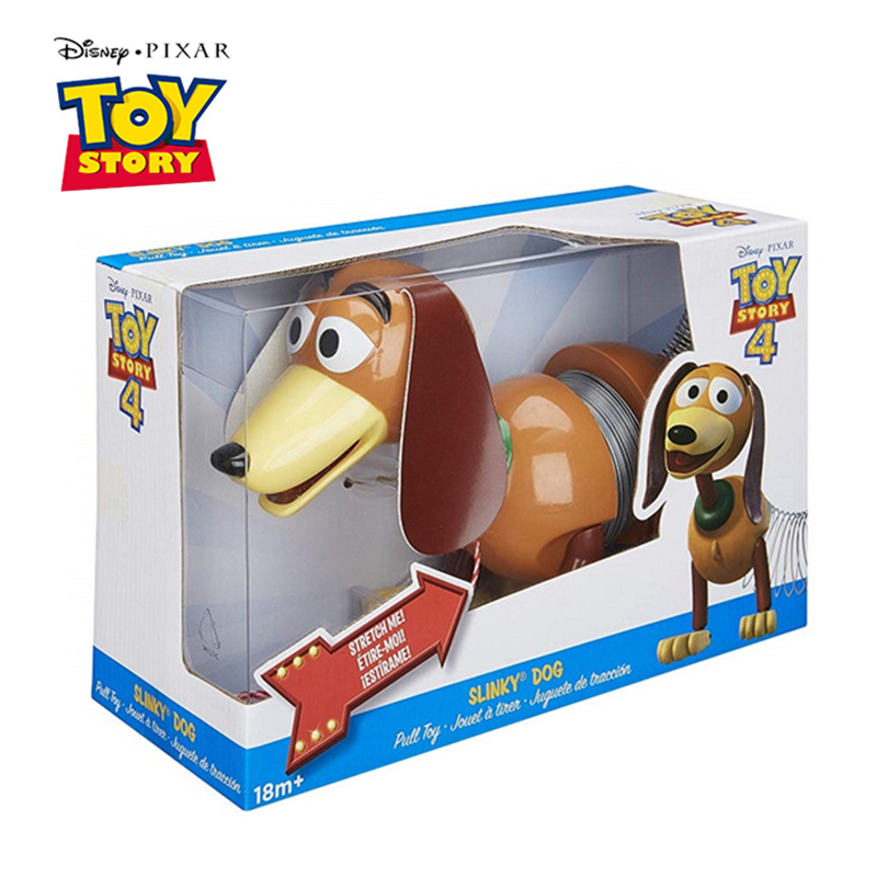 Disney Pixar Toy Story 4 The New Slinky Dog Sheepherder Action Figures Metal Model Doll Limited Collection Toys Children Gifts