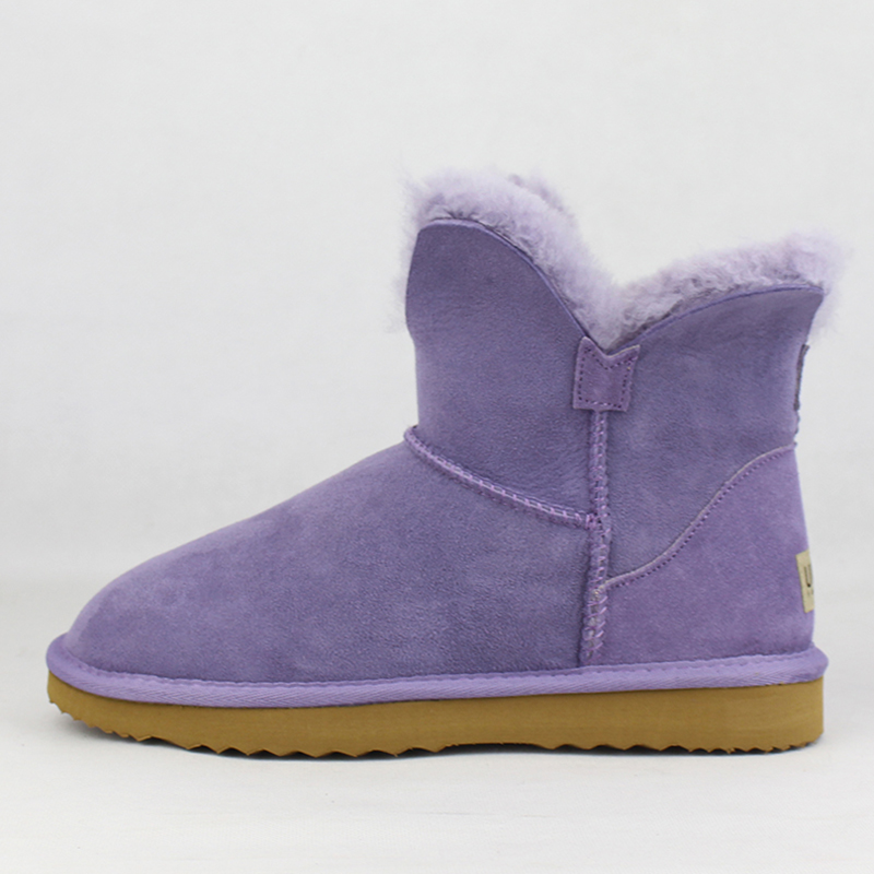 Bottes Cuir Véritable Naturel Chaussures Neige Uvwp Fourrure Peau Mode hot Laine Supérieure 1 D'hiver Blue Pic Purple black as Pic Femmes as De Chaud royal yellow Picture as grape wine Mouton Pink Blue Bottines purple Lake grey green grey En Réel red pink Navy Qualité Red green chestnut qOwP6OX