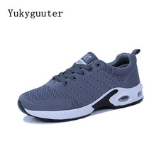 Men Running Shoes Sports Sneakers Flats Breathable Mesh Summ