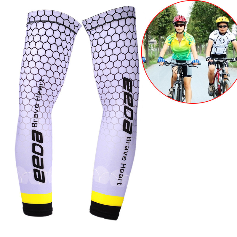 Men's Accessories Men's Arm Warmers 1pcs Running Cycling Uv Protection Arm Sleeves Arm Warmers Basketball Volleyball Bicycle Bike Arm Covers Sports Elbow Pads Attractive Appearance