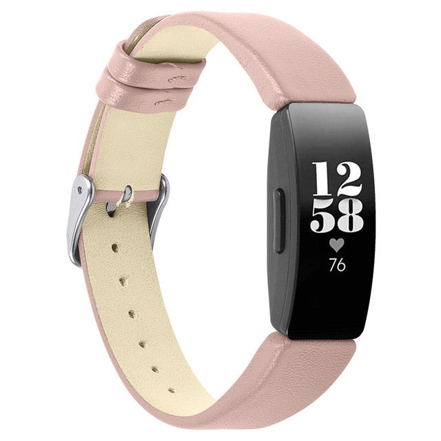 Fitbit Inspire PU Leather Strap