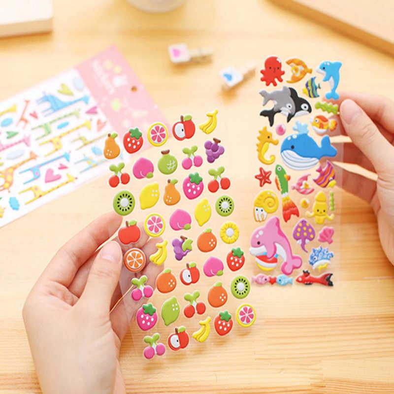 1 unids/lote Maraton de Anime tridimensional de pegatinas de auto-adhesivo DIY pegatinas de juguete de los niños
