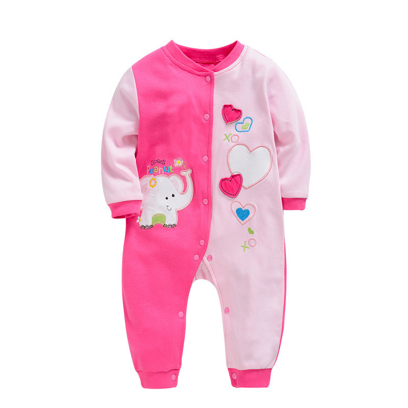 0-18M Infant Girl Onesie Spring Autumn Long Sleeve Newborn Baby Rompers Winter Cotton Toddler One Piece Jumpesuits Kids Costumes lemonmiyu cotton baby rompers long sleeve newborn pajamas animal print infant boy girl one piece spring autumn baby clothes