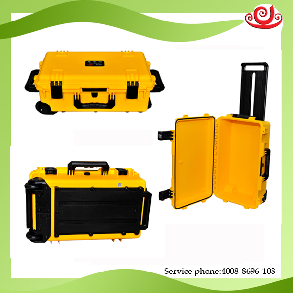 Tricases Shanghai Factory USA Military Standard IP67 PP Hard Big Tool Cases  M2500  With Die-cut Foam