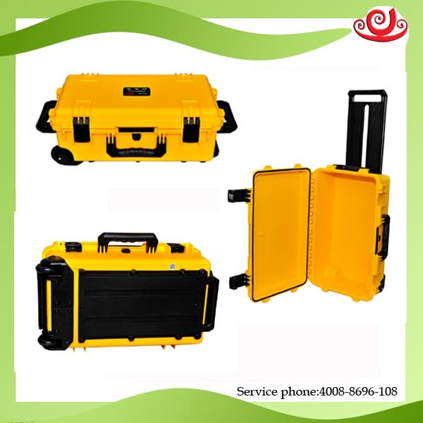 Tricases Shanghai usine USA standard militaire IP67 PP dur grandes boîtes à outils M2500 avec mousse découpée