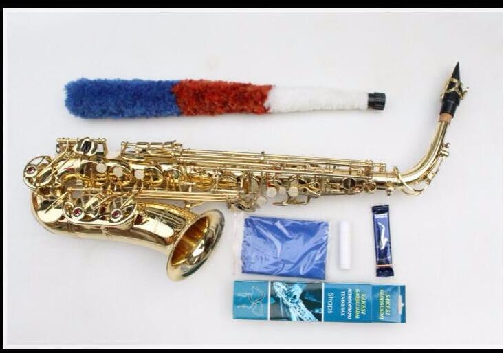 все цены на  Japan Yanagisawa Professional Saxophone Alto Eb Sax Electrophoresis Gold Brass Instruments Music Saxofone Alto Sax  онлайн