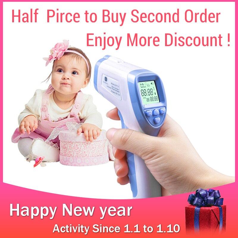 GL Baby Stirn Thermometer Stirn Nicht-kontaktieren Infrarot Thermometer LCD Zurück licht Digital Thermometer Adult Baby Körper