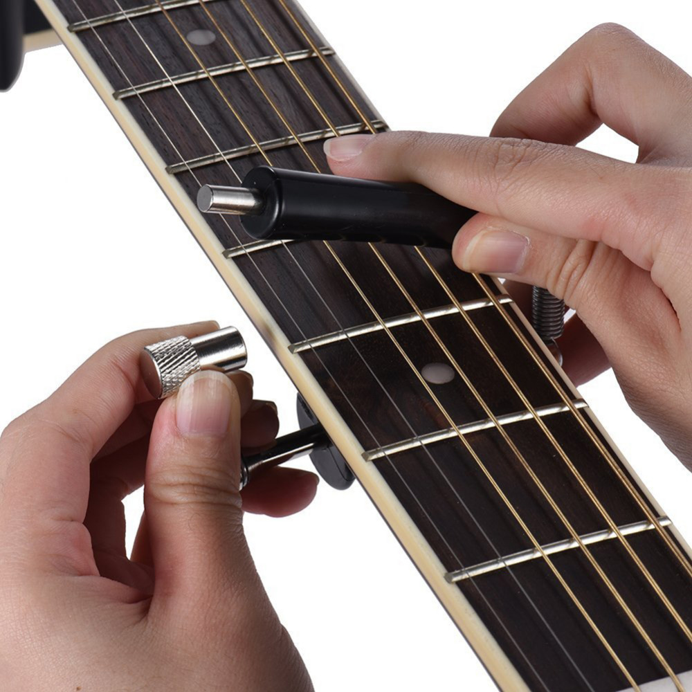 Guitar Capo Musical Instrument Part & Accessories Guitar Rolling Glider Capo Ukulele Guitar Bass Electric Guitar Part dunlop winter maxx wm01 215 70 r15 98t