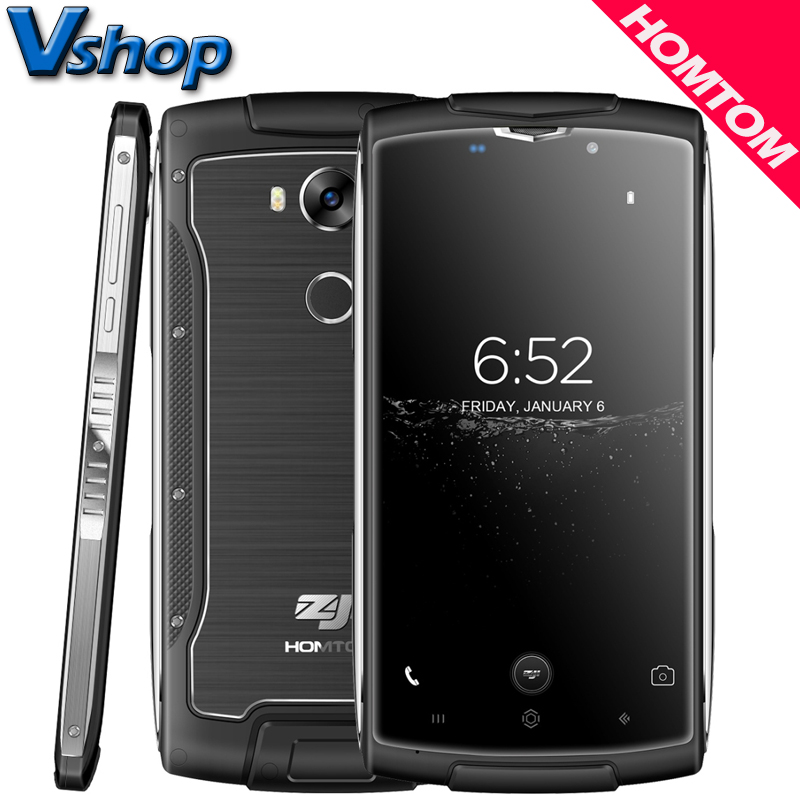 Original HOMTOM ZOJI Z7 4G Mobile Phones Android 6.0 2GB RAM 16GB ROM Quac Core Smartphone 720P 8MP Camera 5.0 inch Cell Phone