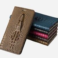 Genuine Leather Case For Lenovo Vibe S1 Flip Case Cover For Lenovo Vibe S1 Lite Luxury